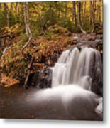 Gully Lake Cascades #1 Metal Print
