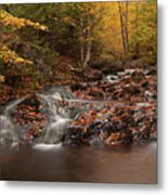 Gully Lake Trail Cascades #2 Metal Print