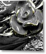 Gum Wrapper - Gold Metal Print
