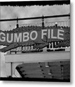 Gumbo File Metal Print