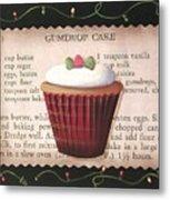 Gumdrop Cupcake Metal Print
