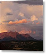Gunnison Sunset Metal Print