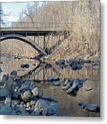 Gunpowder Falls St Pk Bridge - Pano Metal Print