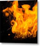 Gunpowder Flames Metal Print