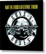 Guns And Roses Logo1 2017 Metal Print