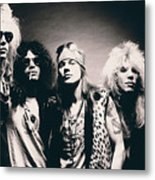 Guns N' Roses - Band Portrait Metal Print