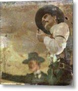 Gunslinger II Doc Holliday Metal Print