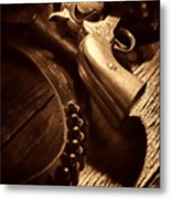 Gunslinger Tool Metal Print