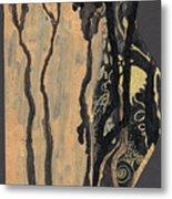 Gustav Klimt's Tears Metal Print