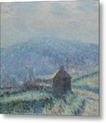 Gustave Loiseau 1865 - 1935 Jelly White Huelgoat, Finistere Metal Print