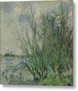 Gustave Loiseau 1865 - 1935 Willows, Edges Oise Or On The Banks Of The Oise Metal Print