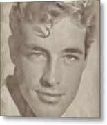 Guy Madison, Vintage Actor Metal Print