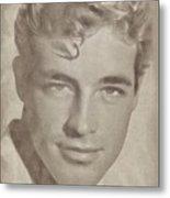 Guy Madison, Vintage Hollywood Actor Metal Print