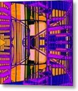 Gym Staircase Metal Print