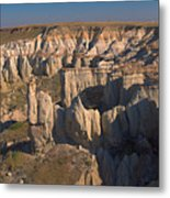 Gypsum Cliffs Metal Print