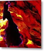 Gypsy Flame Metal Print