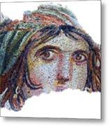 Gypsy Girl Of Zeugma Metal Print