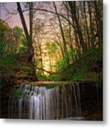 Gypsy Glen  Rd Waterfall  Metal Print