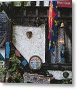 Gypsy Hut Metal Print