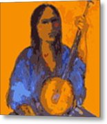 Gypsy Music Metal Print by Johanna Elik