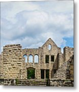 Ha Ha Tonka Castle Panorama Metal Print