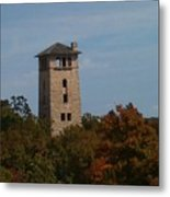 Ha Ha Tonka Water Tower Metal Print