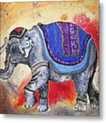 Haathi  Metal Print by Sydney Gregory