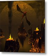 Habitation Of Dragons 2 Metal Print