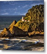 Haceta Head Light 2 Metal Print