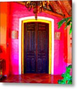 Hacienda 2 By Darian Day Metal Print