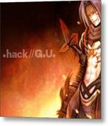 .hack//g.u. Metal Print