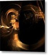 Hadron Collider Metal Print