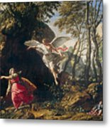 Hagar And Ishmael In The Wilderness Metal Print
