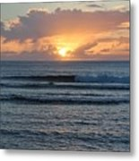 Hagatna Bay Sunset Metal Print