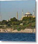 Hagia Sophia And Blue Mosque Metal Print