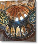 Hagia Sophia Dome Metal Print