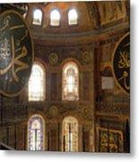 Hagia Sophia Interior Metal Print