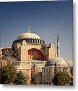 Hagia Sophia Metal Print by Joan Carroll