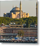 Hagia Sophia On The Bosphorus  Metal Print