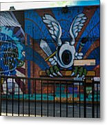 Haight Ashbury Mural Metal Print
