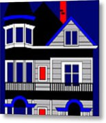 Haight Street San Francisco Metal Print