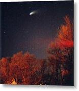 Hale-bopp Comet Metal Print