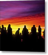Haleakala Color Show Metal Print