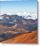 Haleakala Crater Metal Print
