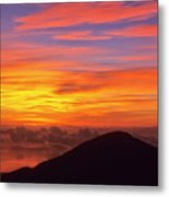 Haleakala Sunrise Colors IIi Metal Print