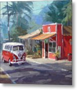 Haleiwa Metal Print by Richard Robinson