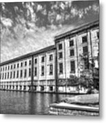 Hales Bar Dam B W Tennessee Valley Authority Tennessee River Art Metal Print