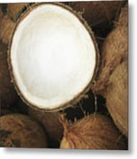 Half Coconut Metal Print by Brandon Tabiolo - Printscapes
