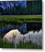 Half Dome At Sunrise Metal Print