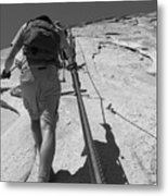 Half Dome Cables Metal Print